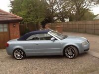 A4 convertible cabriolet 2.5td lovely condition