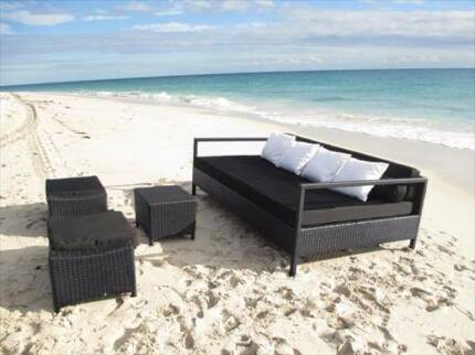 The Kuta Day Bed Outdoor Wicker Lounge Setting Patio Furniture Part 39