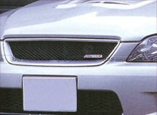 NO1 Racing Front Bumper Grill Grille For LEXUS IS200 TRDD Styling Carbon Fiber