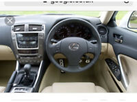 Lexus is220d complete dashboard + passenger & knee air bag 06+ breaking spares is 220d is250 250 220