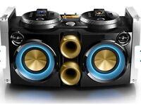Phillips 300W Dual DJ-Dock Hi-Fi