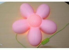 Ikea pink flower lights x2