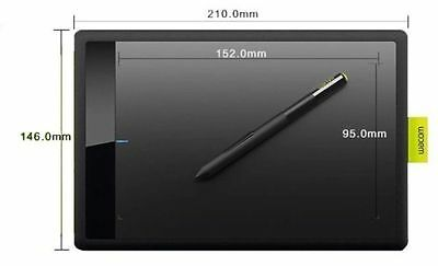 Kyпить One by Wacom Bamboo Splash Tablet CTL471 Drawing Small Pen for Windows Mac New на еВаy.соm