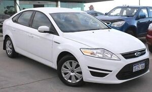 2013 Ford Mondeo MC LX PwrShift TDCi White 6 Speed Sports Automatic Dual Clutch Hatchback Pearsall Wanneroo Area Preview