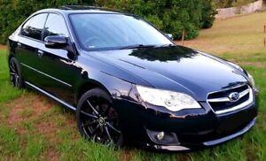 2007 Subaru Liberty MY08 2.5I Heritage Black 4 Speed Auto Elec Sportshift Sedan Parramatta Parramatta Area Preview