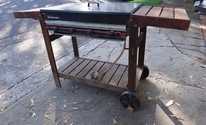 Barbeque and red gum trolley Waverton North Sydney Area Preview