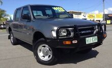 1998 Holden Rodeo TF R7 LX Crew Cab Grey 5 Speed Manual Utility Bungalow Cairns City Preview