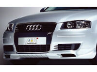 Audi A3 ABT front bumper splitter/spoiler S3 RS3 A3 SE TDI Sport TFSI SLine FSI 3.2 2.0 1.9 1.6 V6