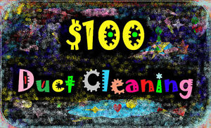 Air Duct Cleaning Flat Rate $100 For Unlimited Ducts and Vents