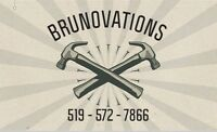 BRUNOVATIONS- FREE QUOTES ON YOUR NEXT RENO PROJECT