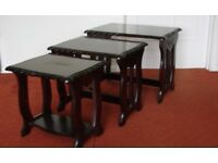 Nest of tables - great condition