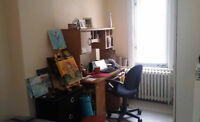 Sublet Furnished bachelor in DOWNTOWN core- Female-All incl-ASAP