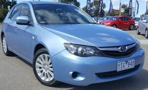 2011 Subaru Impreza G3 MY11 R AWD Blue 4 Speed Sports Automatic Hatchback Meadow Heights Hume Area Preview