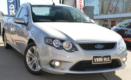 2011 Ford Falcon FG MkII XR6 Ute Super Cab Silver 6 Speed Sports Automatic Utility Pearce Woden Valley Preview
