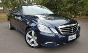 2009 Mercedes-Benz E350 W211 MY08 Avantgarde Blue 7 Speed Automatic Sedan Hyde Park Unley Area Preview