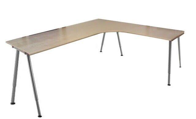 Pleasing Ikea Galant L Shaped Desk Combination Birch Veneer 2 1M X 1 7M Longest Sides In Cyncoed Cardiff Gumtree Download Free Architecture Designs Scobabritishbridgeorg