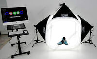 New LIGHTBOX Complete For Product Photography NEVER USED!!