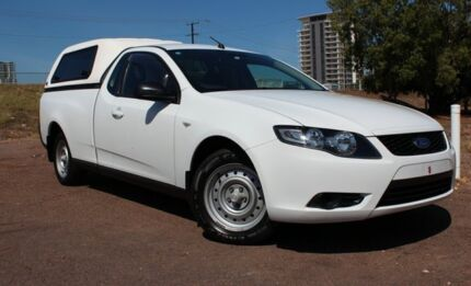 2010 Ford Falcon FG (LPG) White 4 Speed Auto Seq Sportshift Utility The Gardens Darwin City Preview