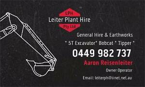 LPH - Leiter Plant Hire.  Excavator COMBO.  TIpper.  Bobcat Chermside Brisbane North East Preview