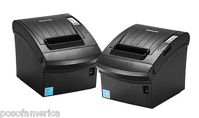 Bixolon Samsung Srp-350plusiii Usb Ethernet Black Pos Thermal Ac Printer New