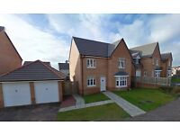 Four Bedroom Unfurnished Property on Fieldfare View - Dunfermline - Available 21/11/2016