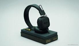 Marshall Major II Headphones - Pitch Black