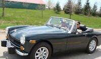 1974 MG  New top, tires, rims, all tuned up ready to go 9K OBO