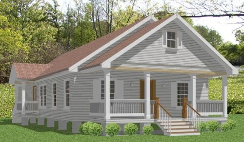 Custom House Home Building Plans Spacious 3 bed 1620 sf --- PDF file