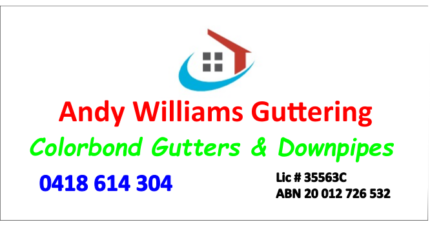 Andy Williams Guttering
