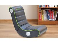 gaming chair with audio speakers