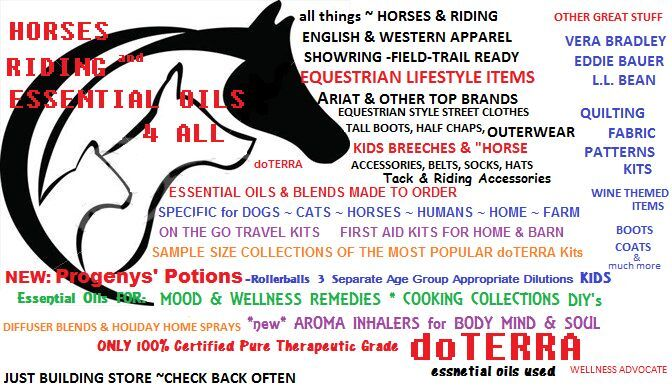 Horses Riding  Essential Oils 4 All