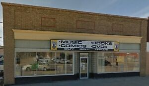 For Sale:  Tramp's Music & Books Prince Albert