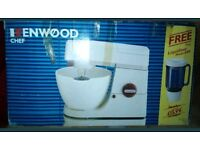 KENWOOD CHEF A901 MIXER AND LIQUIDISER, BOXED
