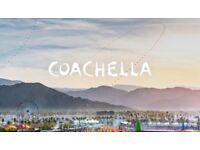 x2 GA Coachella Weekend 2 tickets