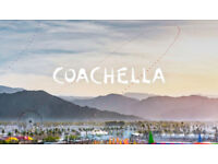 COACHELLA Festival Weekend 2 (20-22nd April) - VIP Pass