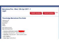 Barcelona Fira Travelodge Hotel reservation