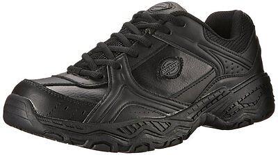 Dickies Venue II Womens Slip Resistant Service Work Shoe Black Size 5 - 10 M & W