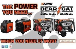 Reliable and Fuel Efficient Generators and Inverters In-Stock and Starting at $649 at CR Equipment!