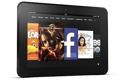 Kindle Fire HD, read and watch that book and movie