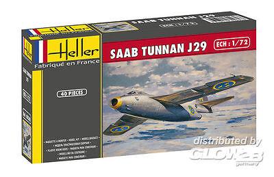 Heller SAAB Tunnan  in 1:72 1780260 Glow2B 80260  X