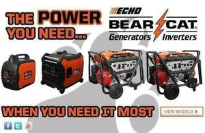 Reliable and Fuel Efficient Generators and Inverters In-Stock and Starting at $599 at CR Equipment!