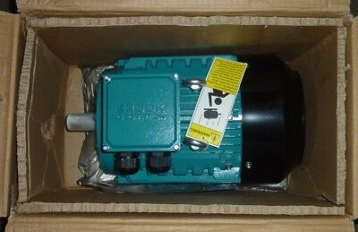Brook Crompton Electric Motor PA6M003-2 3hp 208-230v 460v 3ph 3 phase volt NEW