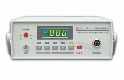 Tonghui Th2513 Dc Low-ohm Meter Direct Current Low Resistance Tester 200m-2k Ge