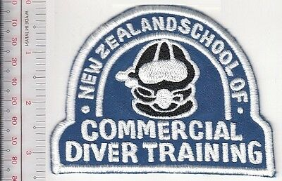 SCUBA Hard Hat Diving New Zealand School of Commercial Diver Training blue
