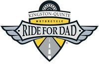 Volunteer with the TELUS Motorcycle Ride for Dad