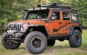 Rugged Ridge - Déflecteur de portes fumés (4) Wrangler JK 07-17 West Island Greater Montréal image 1