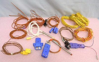 22 Thermocouple Cables Probes Connectors Type J K T E