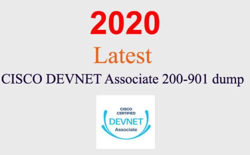 Cisco DevNet Associate 200-901 dump latest questions (1 month update)