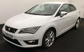 SEAT LEON SC 2.0 - Bad Credit Specialist - No Credit Scoring Available