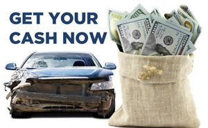 looking to buy scrap vehicles cash for clunkers !
